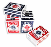 Bicycle Kortlek Röd/Blå 12-pack