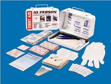 Första hjälpen-kit, för 10 personer