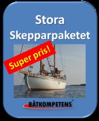 Skepparpaket Förarintyg+Kustskepparen+Båtpraktik