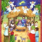 """Adventskalender """"barn, änglar och herdar"""""""