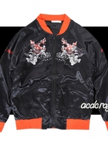 Harajuku ACDC Samurai Sukajan Jacket