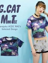 ACDC Galaxy Neko Mini T-Shirt