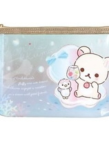 """Korilakkuma Vacation"" Clear Pouch"