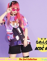 """Name Neko"" Collaboration x ACDC colorful Tshirt"