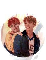 BTS-  J-Hope & JUNGKOOK Badge