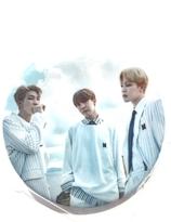 BTS-  J-Hope , JIMIN & Rap Monster Badge