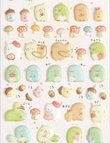 Sumikko Gurashi   klistermärken