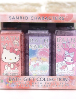 Sanrio Characters Bath Salt Set ( Little Twins Star, My Melody and Hello Kitty)