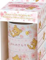 Rilakkuma Sakura decoration tape