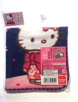Hello Kitty with kimono sakura collection handkerchief