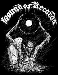 Sound of Records Svart - t-shirt