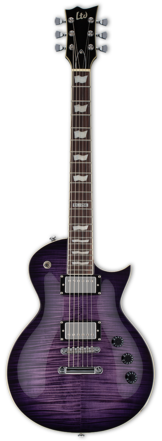 ESP/LTD EC-256FM See thru purple sunburst