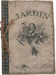 ANTECKNINGS BOK,JARDIN