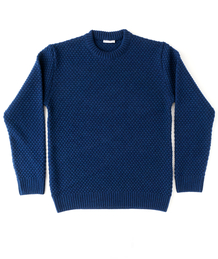 Crew Neck Heavy Spot - Royal Blue