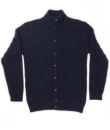 Knitted Jacket Cloud Navy