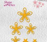"""Shape Dies """"Flower-3"""""""