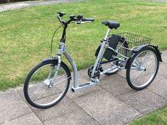 """Eco Classic 24"""" El-Trehjulig cykel - Pfiff - Ny modell 2017!!"""