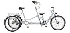 Unione trehjulig tandemcykel - Pfiff