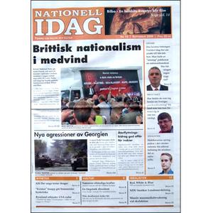 Nationell Idag nr. 15, 2008