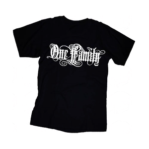 One Family - Svart - T-shirt - Barn