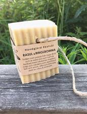 Ekologisk Handgjord Tvål på Hamparep - Rasul & Ringblomma, 150 g