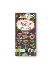 Ekorrens Ekologiska Mörk Choklad   Salty Licorice - 85 g