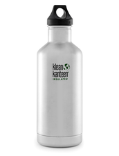 Isolerad Vattenflaska | Klean Kanteen Insulated Classic - Brushed Stainless, 946 ml
