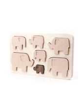 Pussel i Trä Bajo - Elephants Puzzle