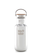 Vattenflaska Rostfritt Stål Klean Kanteen Bambu Reflect - Mirror Finish, 532 ml