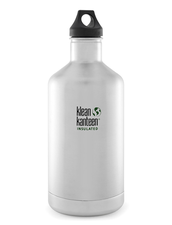 Isolerad Vattenflaska | Klean Kanteen Insulated Classic - Brushed Stainless, 1900 ml