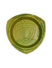 Leaf Engångstallrik av Löv | Orion L - 25 cm, 15 st