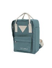 Ekologisk Ryggsäck Barn Mini Backpack Ansvar IV - 8 Liter, Petrol