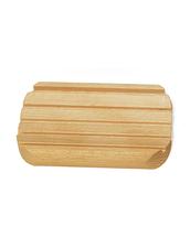 Tvålhållare i Trä med små Gummifötter