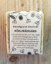Ekologisk Handgjord Tvål – Kök & Trädgård, 100 g