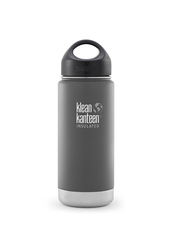 Klean Kanteen Wide Isolerad Flaska - Granite Peak (matt), 473 ml