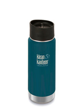 Klean Kanteen Insulated Wide - Neptune Blue, 473 ml - New