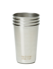 Klean Kanteen Steel Pint Cup - 473 ml, 4-pack