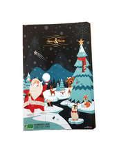 Ekologisk Chokladkalender med Mjölkchoklad Saveurs et Nature  2017 - 90 g
