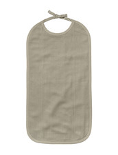 Long Bib - The Organic Company GOTS - Clay, 30x50 cm