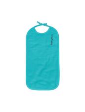Long Bib - The Organic Company GOTS - Turquoise , 30x50 cm