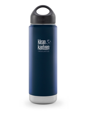 Klean Kanteen Wide Isolerad Flaska - Deep Sea, 592 ml