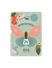 Milestone Turn Wheel Photo Card - Pregnancy in Weeks, Svenska