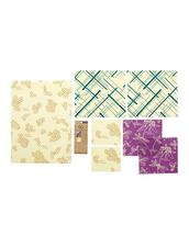 Bee´s Wrap Naturligt och Ekovänligt Folie - Variety Pack, 7-pack