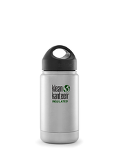 Klean Kanteen Wide Isolerad Flaska - Brushed Stainless, 355 ml