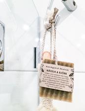 Ekologisk Handgjord Tvål på Hamparep - Nässla & Björk, 150 g