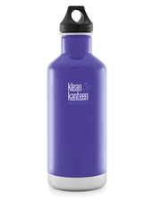 Isolerad Vattenflaska | Klean Kanteen Insulated Classic - Blooming Iris, 946 ml