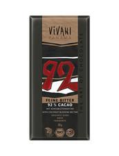Vivani Organic Dark, Vegansk - Mörk Choklad, 92%
