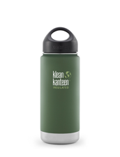 Klean Kanteen Wide Isolerad Flaska - Vineyard Green (matt) , 473 ml