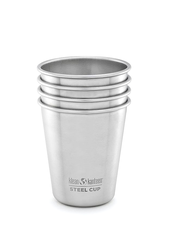 Klean Kanteen Steel Pint Cup - 295 ml, 4-pack