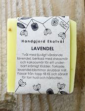 Ekologisk Handgjord Tvål – Lavendel, 100 g